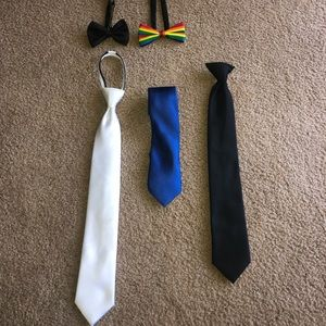 Other - Bowtie and neck tie bundle of 5 👔